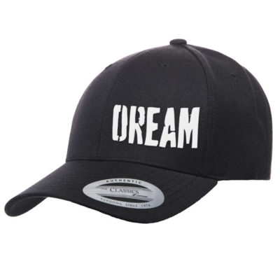 【BIG BASS DREAMS】CURVED BILL HAT DREAM BLACK