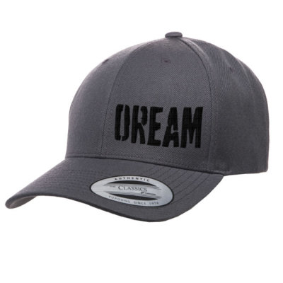 【BIG BASS DREAMS】CURVED BILL HAT DREAM GRAY