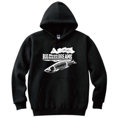 【BIG BASS DREAMS】 PARKA BIG MEGABASS DREAMS BLACK