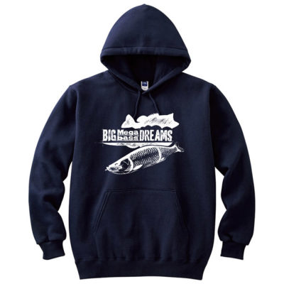 【BIG BASS DREAMS】 PARKA BIG MEGABASS DREAMS NAVY