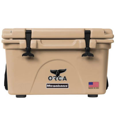ORCA COOLERS(オルカ クーラーズ) MEGABASS EDITION 26QT TAN
