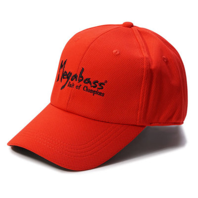 MEGABASS FIELD CAP BRUSH LOGO RED/BLK