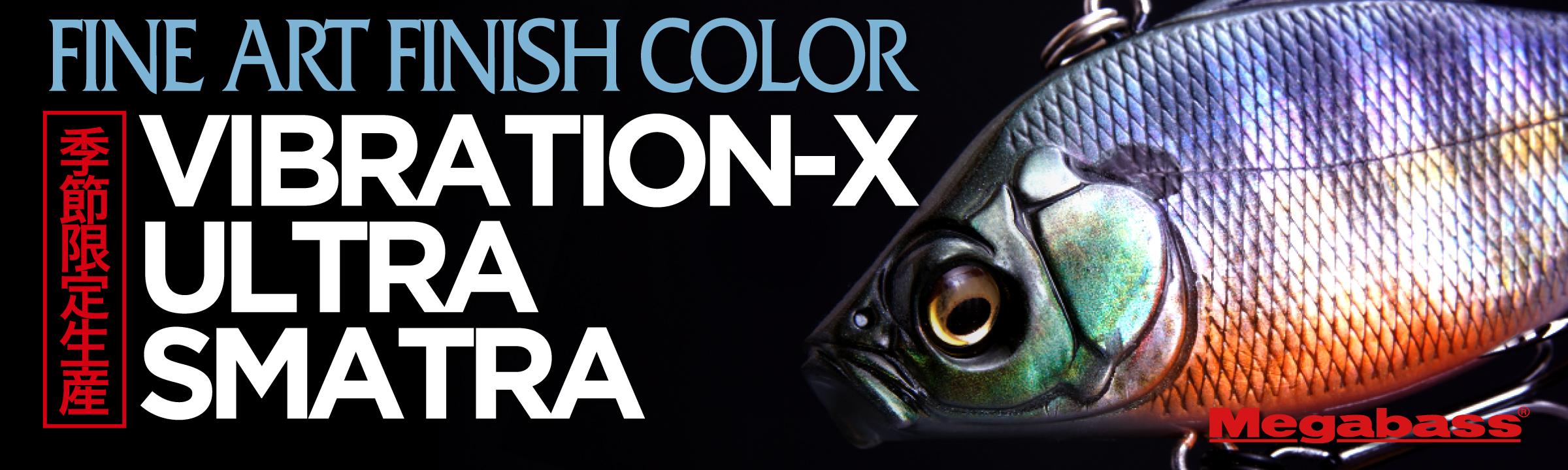 FINE ART FINISH COLOR VIBRATION-X ULTRA SMATRA 季節限定生産