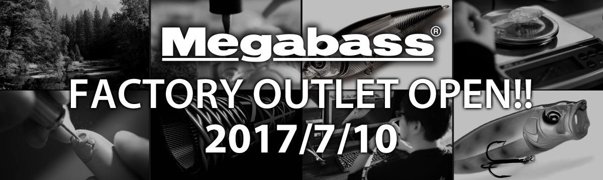 FACTORY OUTLET OPEN!! 2017/7/10