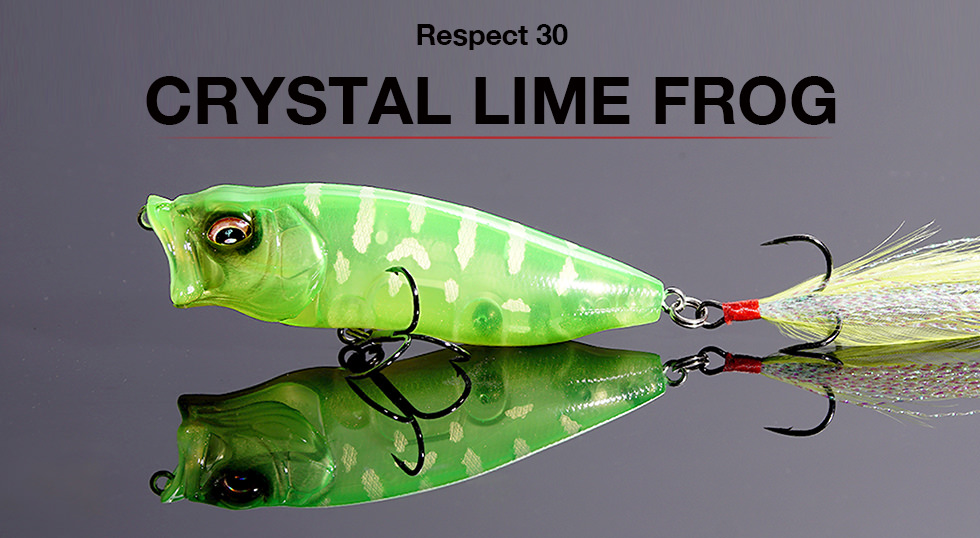 Respect 30 CRYSTAL LIME FROG