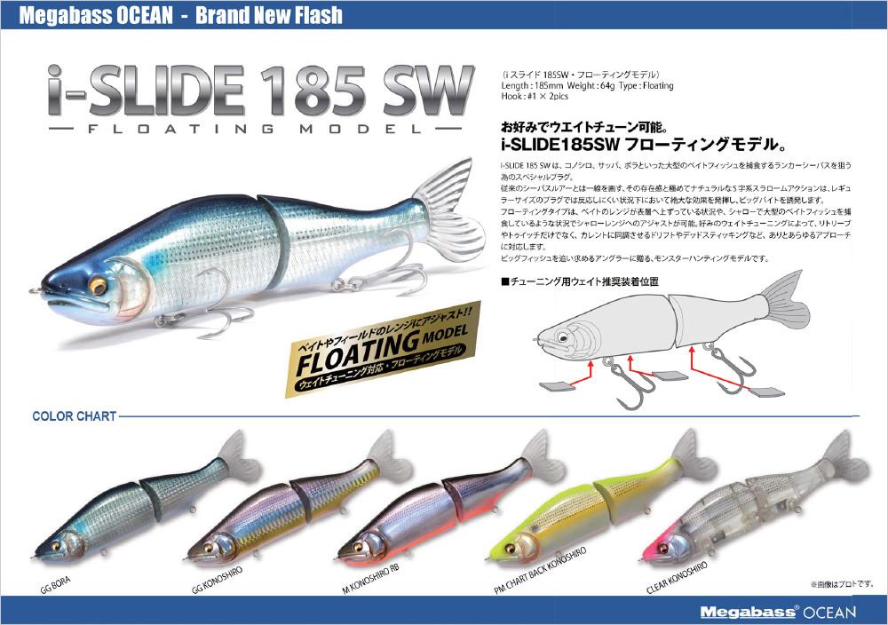 I-SLIDE 185SW(F)