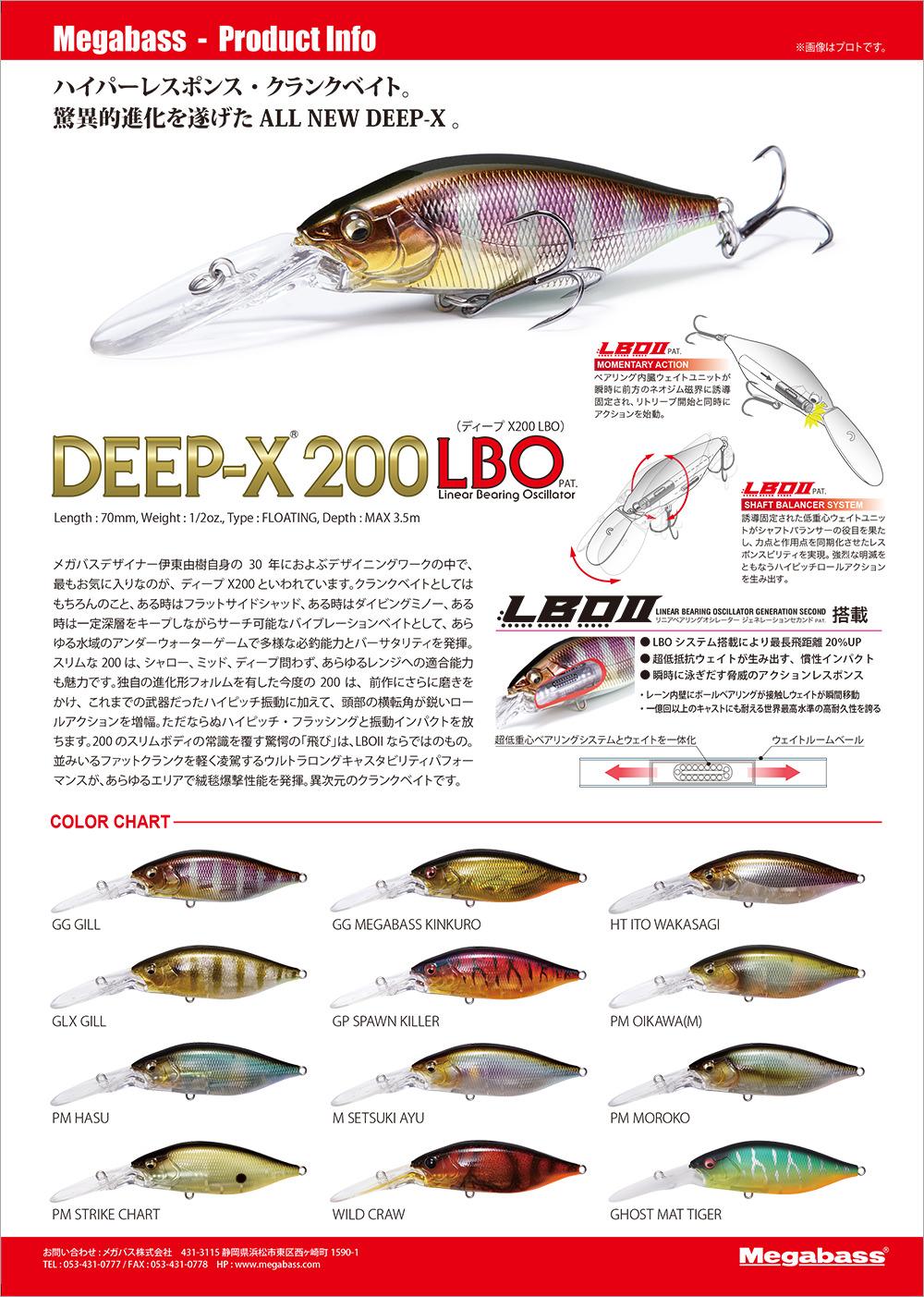 DEEP-X200 LBO