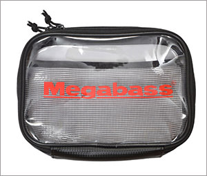 MEGABASS CLEAR POUCH(クリアポーチ) (M)