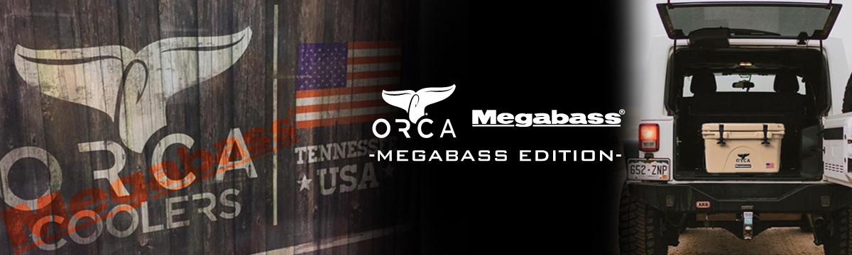 Megabass ORCA COOLERS(オルカ クーラーズ) MEGABASS EDITION