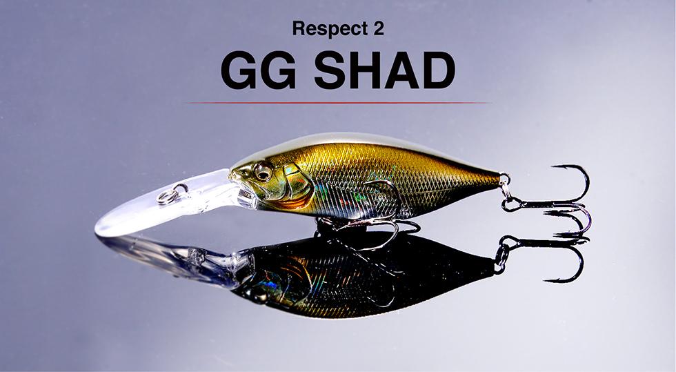 リスペクトカラー第2弾GG SHAD(GGシャッド)期間限定完全受注生産