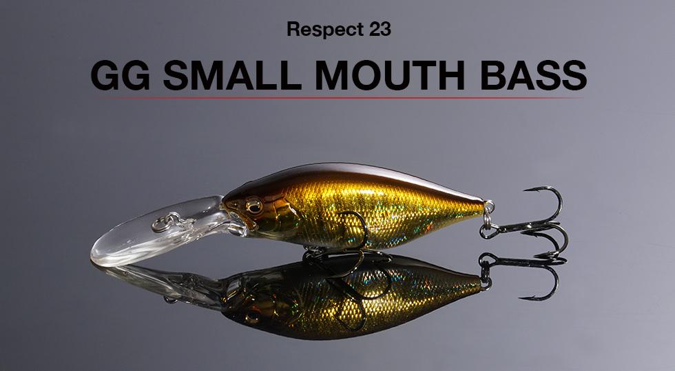 リスペクトカラー2ndステージ(第23弾)GG SMALL MOUTH BASS(GG スモールマウスバス)  期間限定完全受注生産