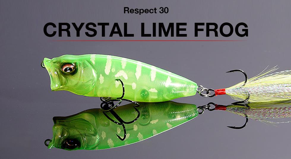 リスペクトカラー3rdステージ(第30弾)CRYSTAL LIME FROG(クリスタルライムフロッグ) 期間限定完全受注生産